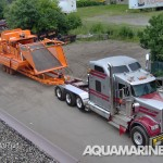 Aquamarine H9 800 Aquatic Harvester Ready for Transport