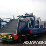 Aquamarine H11 1000 Aquatic Harvester Ready for Transport