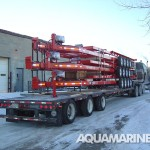 Tilt Deck Trailers Being Shipped Internationally