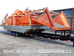 Aquamarine H9-905 Aquatic Weed Harvester