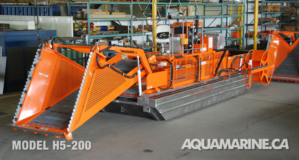 Aquamarine Aquatic Weed Harvester - H5-200